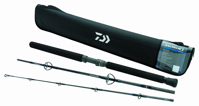 Daiwa Saltiga G boat rods (3 pieces - MH - Spinning) - Click Image to Close