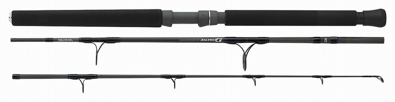 Daiwa Saltiga G boat rod - 3 pieces