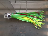 Trolling Skirt lure - GREEN